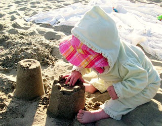 Baby's First Sandcastle