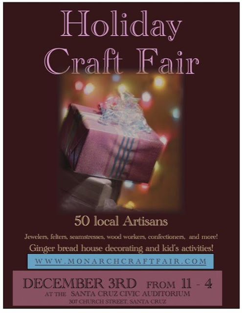 I will be selling at these Holiday Craft Fairs!