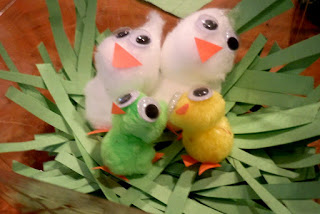 Adorable Easter Craft – Spring Baby Chicks