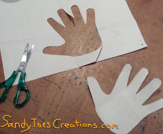 Sandy Toes- Counting by Fives Wall Art