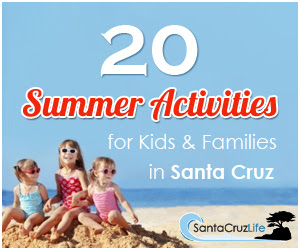 Sandy Toes Creations- Best Family Beaches in Santa Cruz County