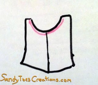 Sandy Toes Creations- How to Make a T-Shirt Dress