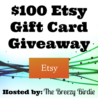 $100 Etsy Giveaway