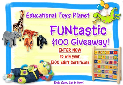 Win $100 Gift Code for Educational Toys Planet Giveaway