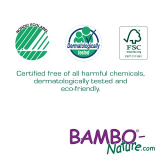 Bambo Nature Diaper review and giveaway