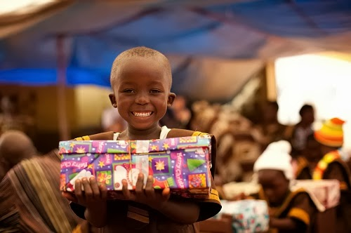 Monday Matters- One Shoe Box Can Change a Child's Life