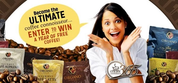 Free Coffee for a Year Sweepstakes