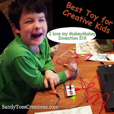 MakeyMakey Top Educational Toy- Invention Kit
