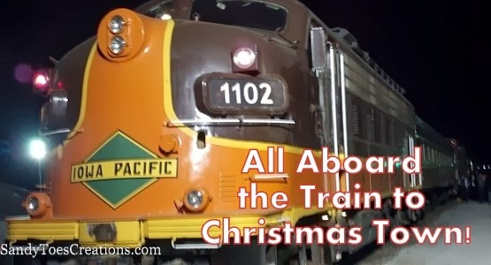 Train to Christmas Town Experience #XmasTown