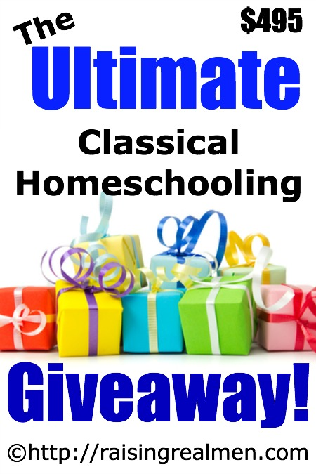 HUGE Classical Homeschool Giveaway Valued at $495!
