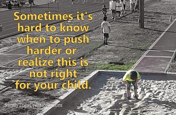 When to Push Your Kids and When to Let it Go