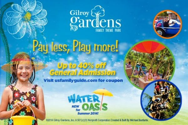 Save $20 Off Gilroy Gardens Family Theme Park