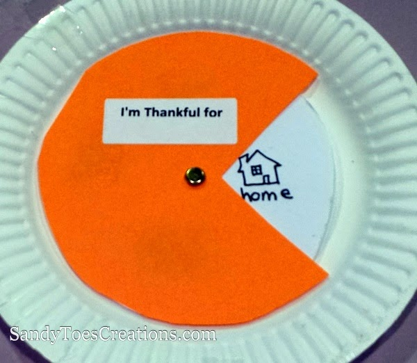 Teaching kids to be thankful and grateful. Thankfulness craft for Thanksgiving