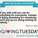 How to be Part of #GivingTuesday