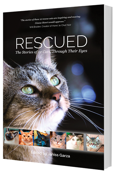 New Author in Cat Rescue Anthology Book