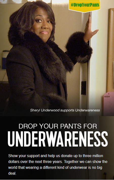 Will You #DropYourPants for #Underwareness?