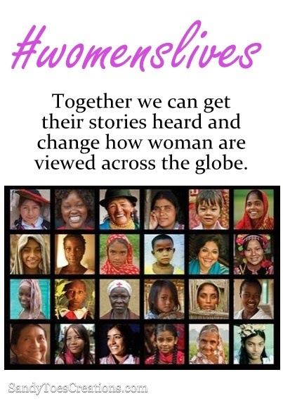 Together Womens Voices Will be Heard #womanslives