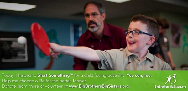 Big Brothers Big Sisters of America #BBBSA #MondayMatters #kids #causes #mentor #charity