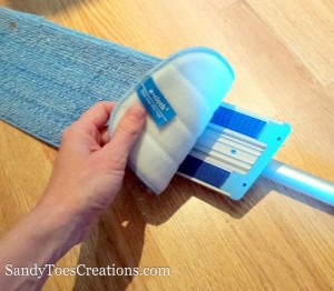 naturally clean floors with e-cloth mop