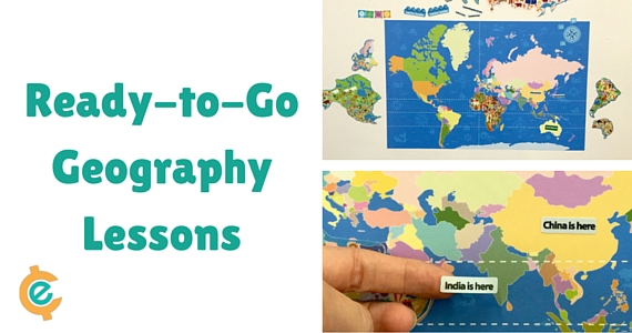 Hands on learning world maps are fantastic for learning geography and has been an important part of  our homeschool curriculum.