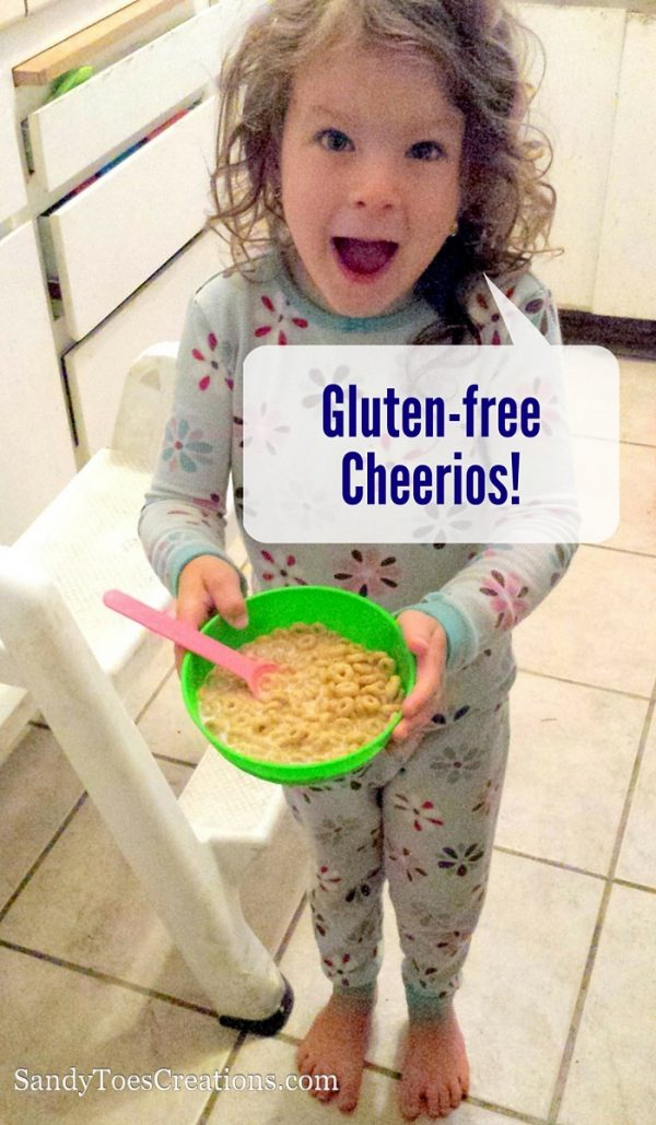 Happy kid! Now we can enjoy our favorite quick breakfast again with Gluten free Cheerios. Gluten free breakfast ideas | gluten free food for kids