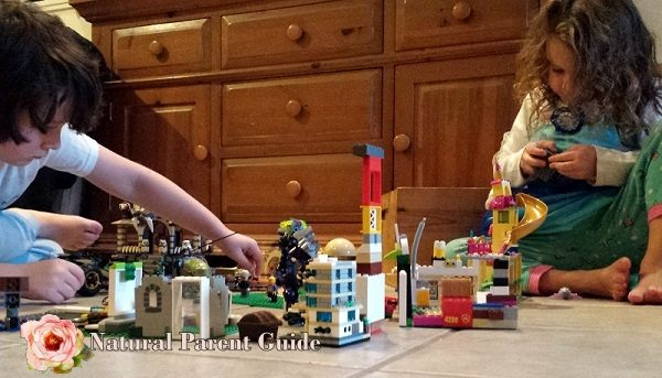 LEGO city building and 28 rainy day kids activities. We all could use some indoor play ideas to keep kids occupied. Enjoy!