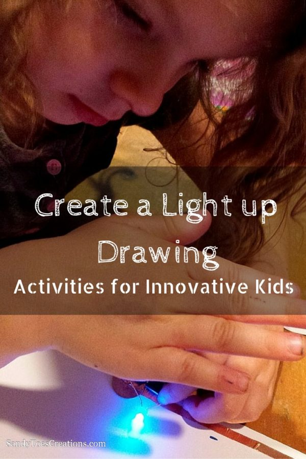 Light up drawing art for innovative kids | Makers | electric art | science projects for kids