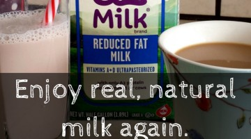Enjoy real milk again. Are you self diagnosed as lactose intolerant? a2 milk is the only cows milk that does not contain the A1 protien that causes digestive issues. Love your milk again and enjoy the taste of the real thing and all its health benefits. #a2milk, #IC #ad