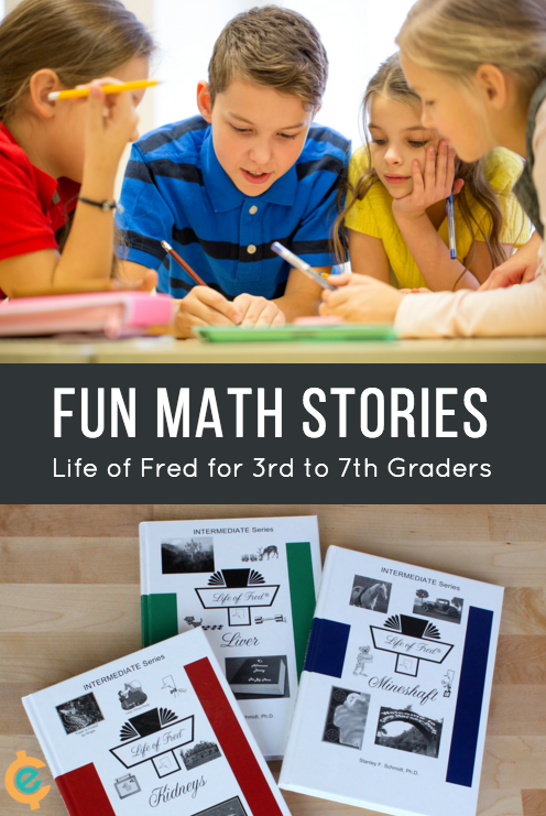 Learning math is fun. My kids think so with the Life of Fred books. Now there are intermediate Life of Fred math curriculum to continue the learning math. Great for homeschool math curriculum or supplementing math learning at home | math games
