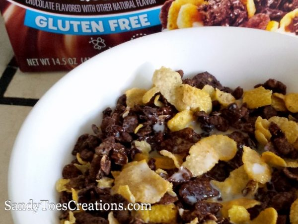 Honey Bunches of oats Chocolate Gluten free cereal gluten-free breatkfast gf snacks #HBOchocGF #IC ad