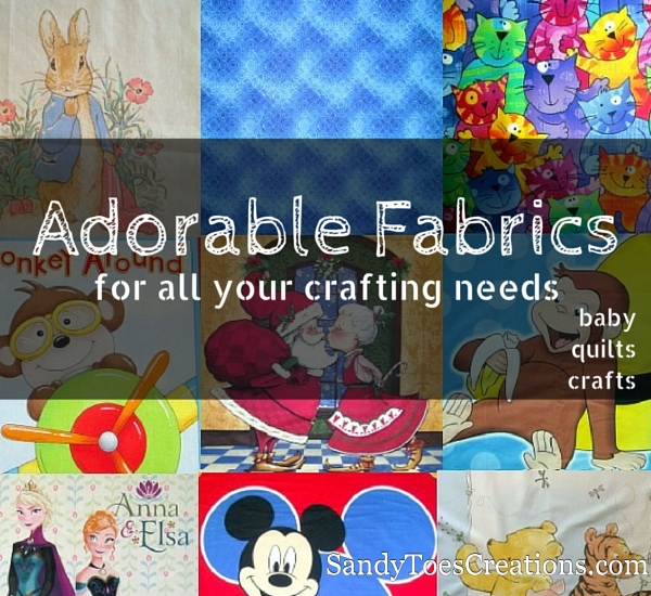 Find fabric for your baby quilt, layette, crib bedding, and any sewing project. Adorable fabrics for your crafts