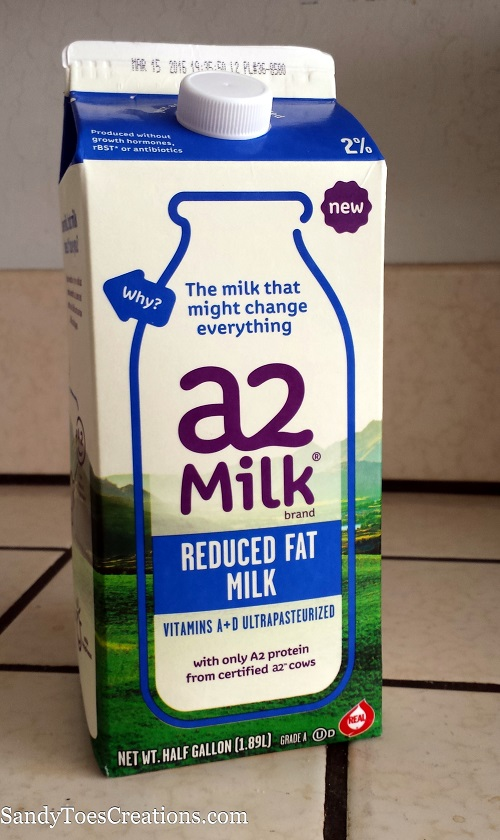 a2 milk does not contain the a1 protein that causes tummy discomfort. #a2milk #IC #ad @a2milk