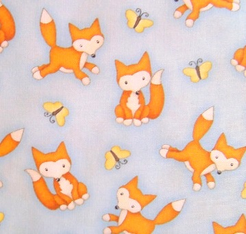 baby fox fabric @quiltgirls
