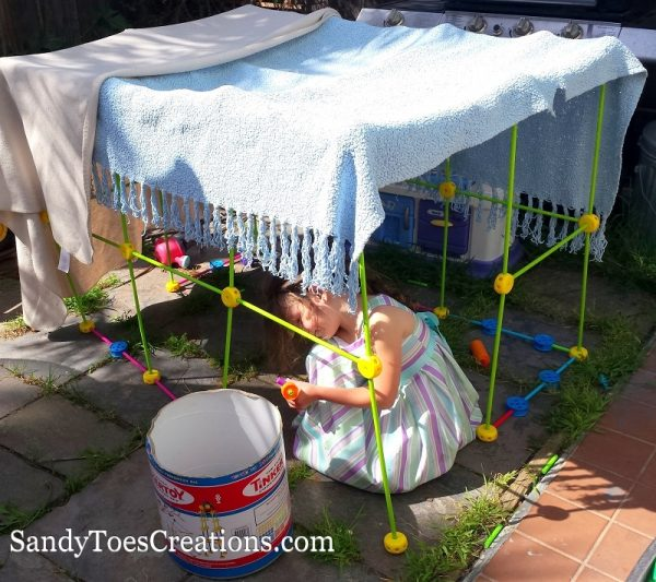 encourage innovation through building forts with kids #galileo #