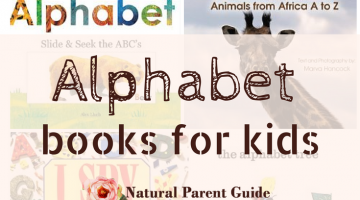 leaning the ABCs with kids can be fun! Ideas and books for teaching the alphabet. Preschool Kindergarten homeschool curriculum kids activities