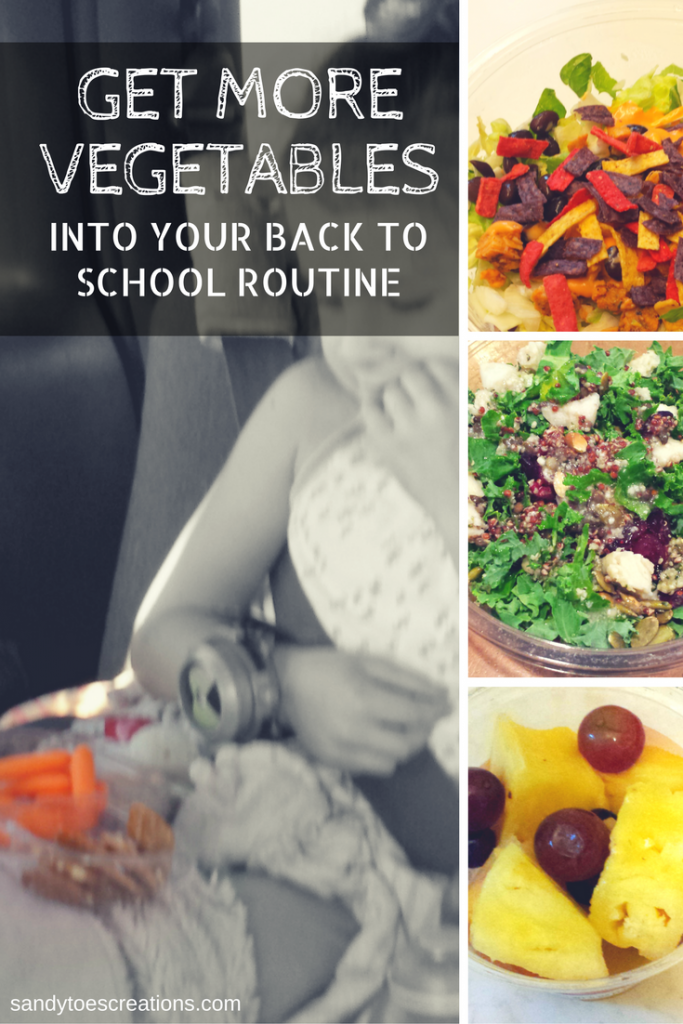 How to get more vegetables into your back to school routine. Homeschool Healthy snacks for kids Travel food Healthy Lunch box ideas Ready Pac AD