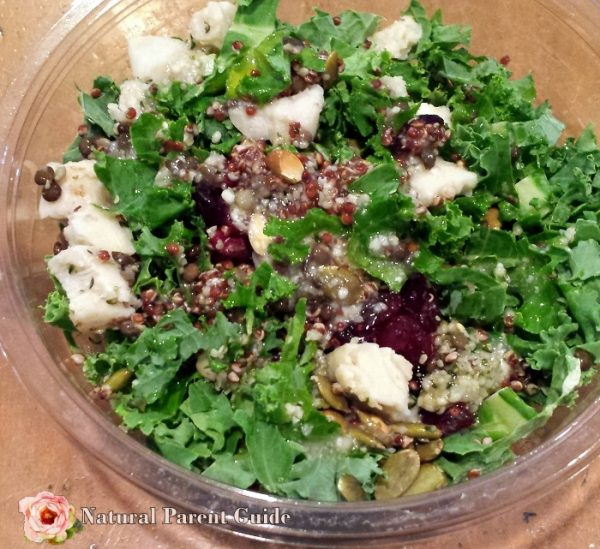 Cranberry Chicken Salad Healthy lunch