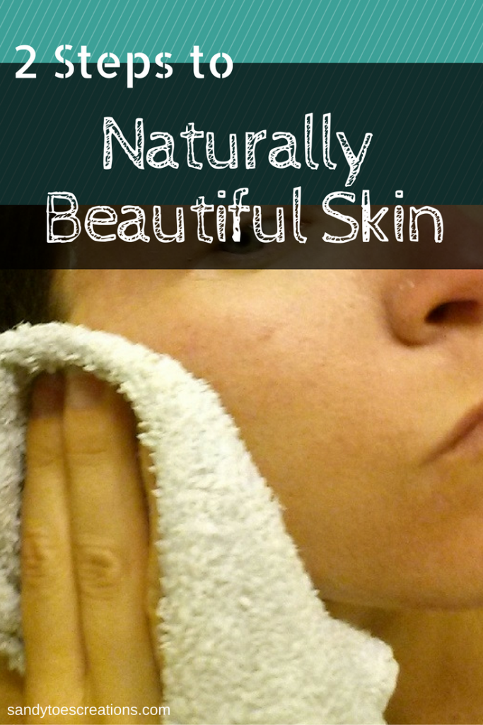 Tips for natural skin care to have naturally beautiful skin CitrusClear face mask and moisturizer ad