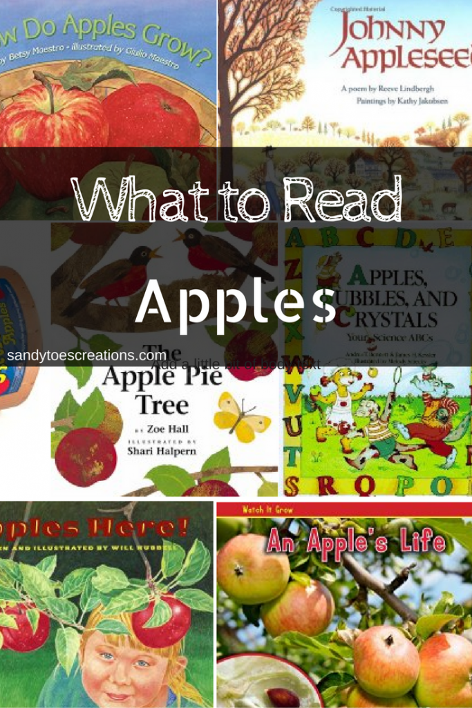 Childrens books about apples Science Reading Homeschool curriculum