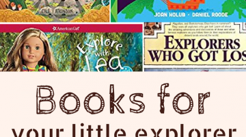 Does your kid want to go on great adventures, exploring the world? Here's a list of kids books to read to your little explorer.