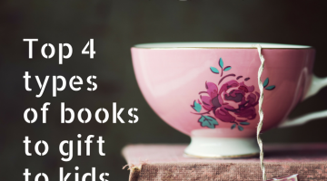Top Four Types of Books to Gift Kids