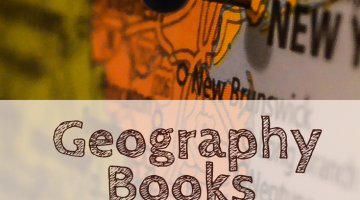 Kids books to learn to read maps and fuel a love of geography #WTRW | geography books | childrens books | homeschool geography | map reading | learning | education | homeschool