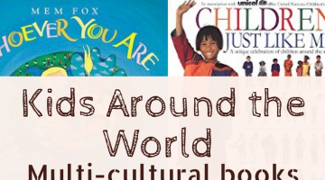 Learn about children and cultures around the world. Great list of multicultural childrens books | multicultural crafts | world art | kids books | learning cultures | homeschool | homeschooling | education
