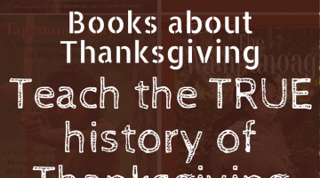 True Kids Books About Thanksgiving