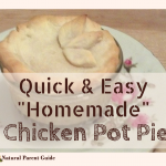 2 Ingredient Chicken Pot Pie That Looks Like it Took Hours, But Only Takes Minutes!