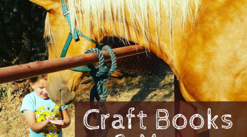 craft and activity books gift ideas for horse lover kids #wtrw | horse books for kids | childrens books | gifts for kids |