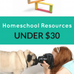 Homeschooling Resources Under $30