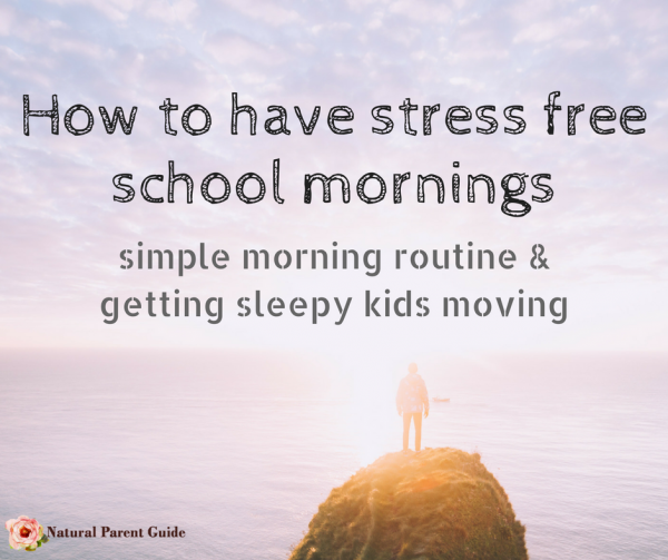 Get kids moving in the morning and ready to go back to school quickly with a simplified morning routine. Plus tips for getting sleepy kids moving. Whether pre school, elementary, or high school kids, these tips will help make the morning rush smoother. #a2Milk #IC  ad @a2milk