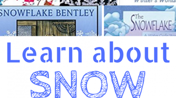Books to Learn About Snow #wtrw