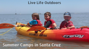 Outdoor Adventure Camp in Santa Cruz and Other Bay Area Locations